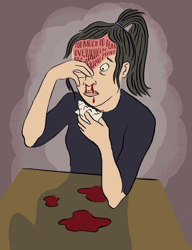 Flux -Nosebleed - Hannah Mumby